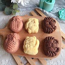 酥皮麻薯月饼#奈特兰草饲营养美味#