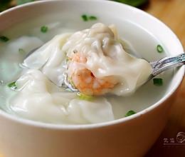 鲜虾芹菜大馄饨  的做法
