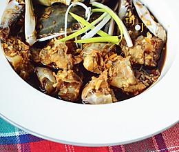 温蟹:酱油腌活蟹你敢尝吗?的做法