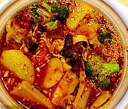 火锅烩菜的做法