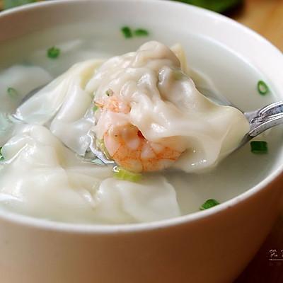 鲜虾芹菜大馄饨
