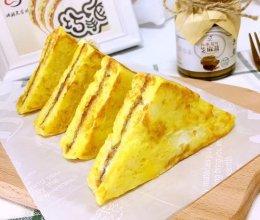 快手早餐   花生酱西多士的做法