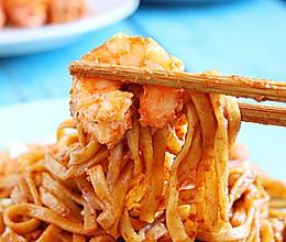 虾油炒面│鲜到头皮发麻的做法