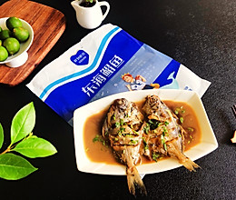 #我为奥运出食力#红烧鲳鱼的做法