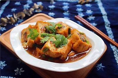 鲜肉酿豆腐块
