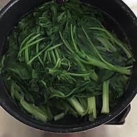 果仁菠菜的做法图解2