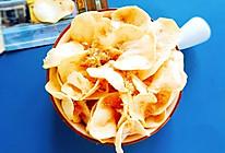 #营养小食光#家庭自制肉松薯片的做法