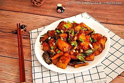 空气炸锅版地三鲜#每道菜都是一台食光机#