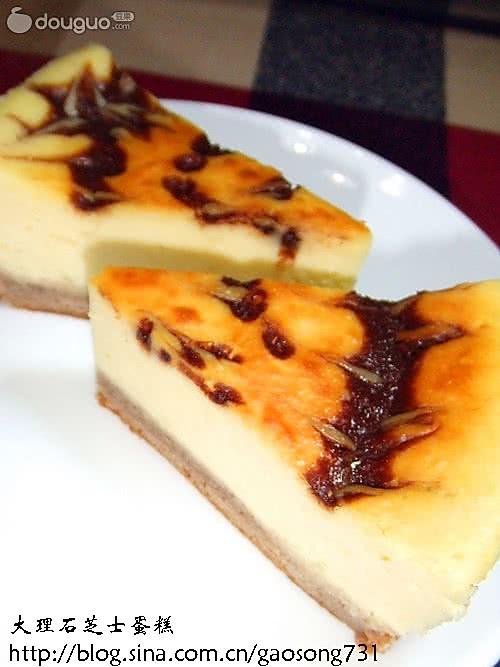 爱这个味---轻松美味的大理石芝士蛋糕的做法