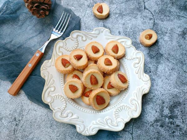 网红酥脆香甜的莎布蕾钻石杏仁曲奇的做法