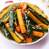 #520,美食撩动TA的心!#低脂爽脆开胃下饭的腌黄瓜条的做法图解17