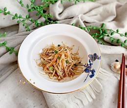 #快手又营养,我家的冬日必备菜品#金针菇蒸蟹柳的做法