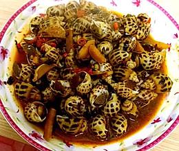 辣酒煮花螺的做法