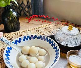 #元宵节美食大赏#糯叽叽的黑芝麻白玉丸子的做法