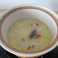 海参小米粥的做法图解8