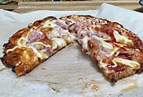 自制简易手抓饼披萨,比必胜客的还好吃哦。的做法