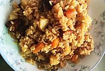 胡萝卜土豆鸡腿焖饭的做法
