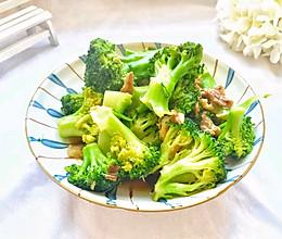 #相聚组个局#年夜饭必备简单快手家常菜西兰花炒肉的做法