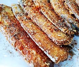 会吃会过的椒盐带鱼段的做法