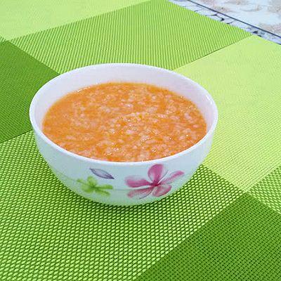 宝宝辅食--胡萝卜粥