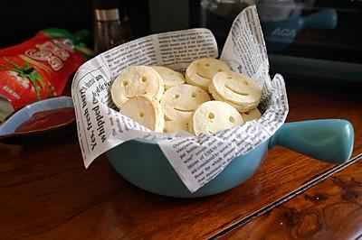 非油炸、低脂健康—开心土豆饼