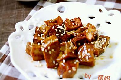 好吃的小零嘴~酱香豆腐干