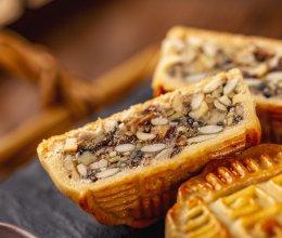 自制五仁月饼:真材实料的好味道(含五仁馅料做法)的做法