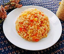 #我们约饭吧#西红柿蛋炒饭的做法