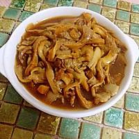 蘑菇炒肉&】平菇的做法图解5