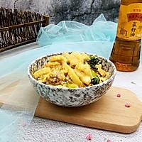 豆腐肉丝炒年糕#金龙鱼外婆乡小榨菜籽油  我要上春碗#