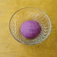 紫薯开花馒头的做法图解3