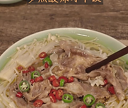 酸汤金针菇肥牛的做法
