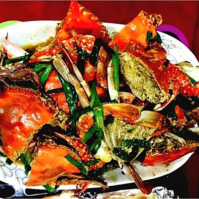 葱姜炒海蟹