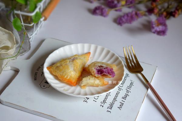 酥脆甜香芋泥派的做法