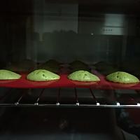 Mucci:我想尝试的24味——No.4:春の抹茶玛德琳蛋糕的做法图解8