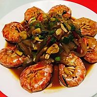 秘制烧大虾的做法图解7