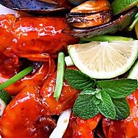 茄汁大明虾的做法图解10