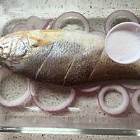 罗勒烤黄鱼的做法图解7
