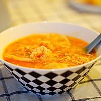 茄汁虾球面片汤#每道菜都是一台食光机#