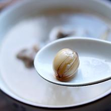 新鲜莲子排骨汤