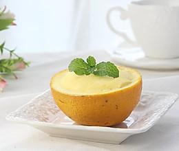 小朋友的辅食:香橙蒸蛋的做法