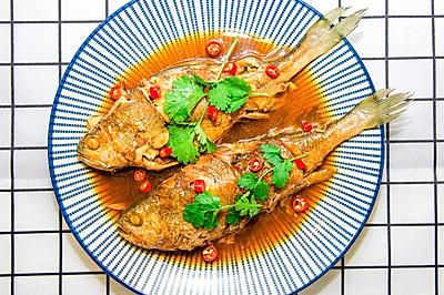 红烧黄花鱼,情人节最美味的礼物