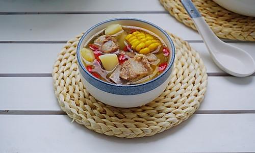 排骨山药玉米汤的做法