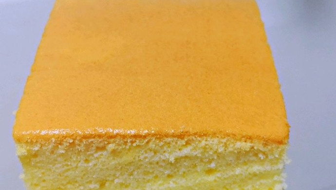 比戚风蛋糕还好吃的—台湾古早味蛋糕
