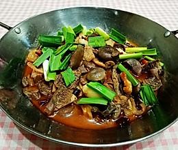 干锅枞菌的做法