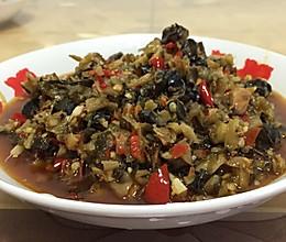 酸菜炒螺蛳肉的做法