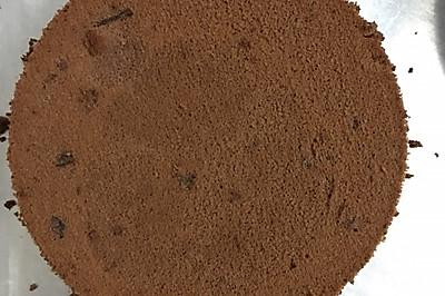 巧克力戚风蛋糕(6寸)10L小烤箱
