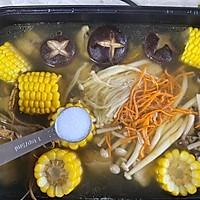菌菇鸡汤面的做法图解10