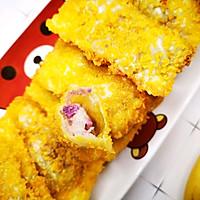 #福气年夜菜#香蕉紫薯派的做法图解12
