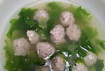 自制青菜鱼丸汤的做法